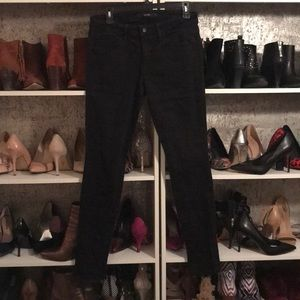 Joe's Jeans Skinny Black Denim